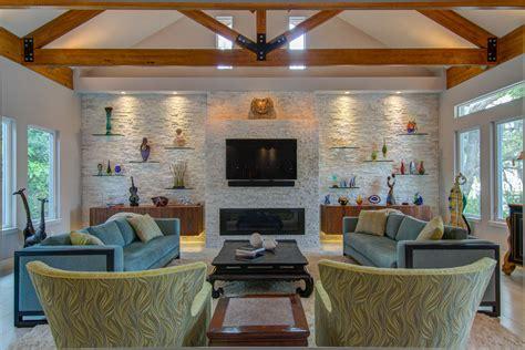 glass wall shelves for living room floating glass shelves family room modern with art bar bar