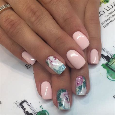 Kunst Nägel by Floral Summer Nails Pictures Photos And Images For