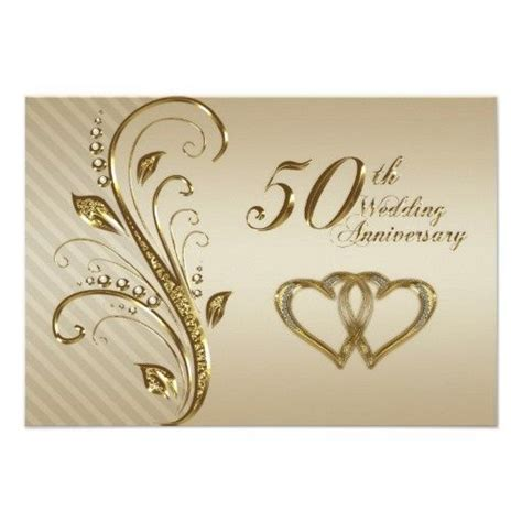 Free Printable 50th Anniversary Invitations 50th Wedding Anniversary Rsvp Card Projects To 50th Anniversary Templates Free