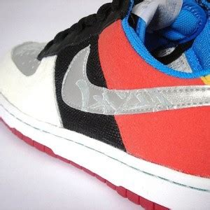 Nike Dunk X Blink 182 delta air 1 custom shoes by lazy