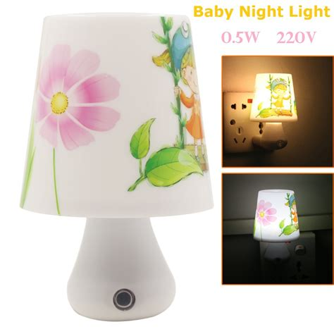 dimmer night light l baby nightlight 0 5w ac220v with remote control dimmer led
