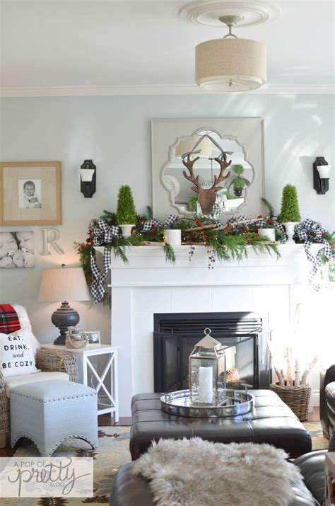 323 best christmas mantels images on pinterest christmas