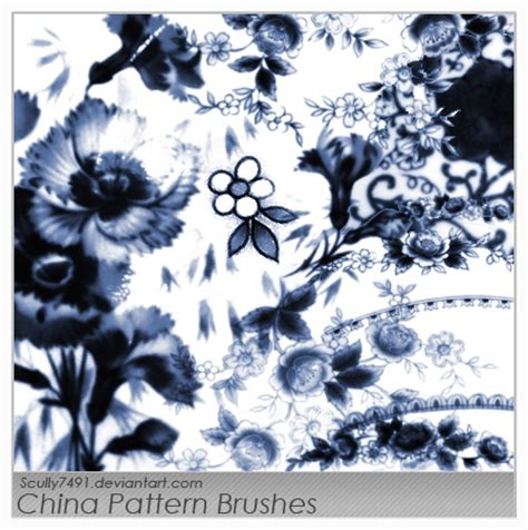oriental pattern brush photoshop china pattern brushes by scully7491 on deviantart