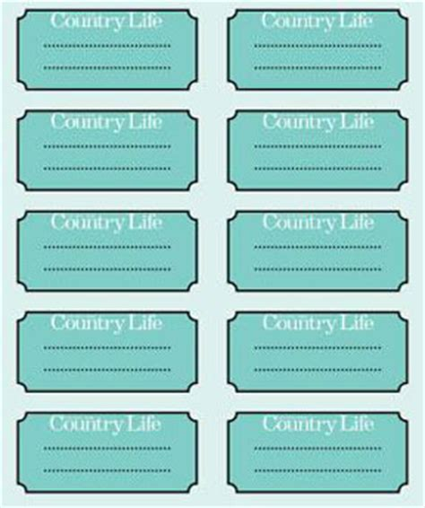 chutney label templates chutney make some tonight
