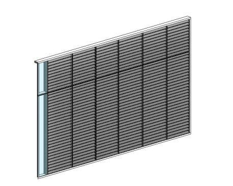 curtain wall revit download curtain wall louver panel modlar com
