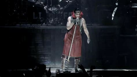 Live At The Square Gardensis This Microphone by Rammstein Rammlied Live From Square Garden