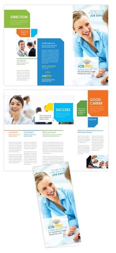 fair brochure template career fair tri fold brochure template career fair tri