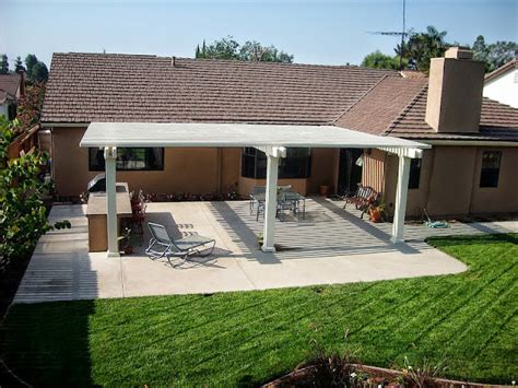 Diy Patio Awning by Solid Aluminum Outdoor Patio Covers Diy Patio Cover Kits