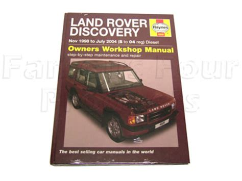 auto repair manual online 1999 land rover discovery auto manual workshop repair manuals for land rover discovery series ii
