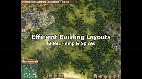 anno online layout hemp anno 1404 venice efficient building layouts cider