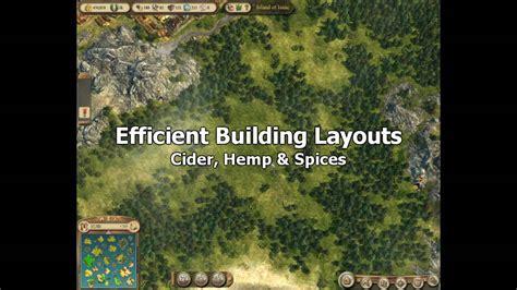 hemp layout anno online anno 1404 venice efficient building layouts cider