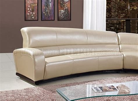 pearl leather sofa u958 sectional sofa in pearl bonded leather by global