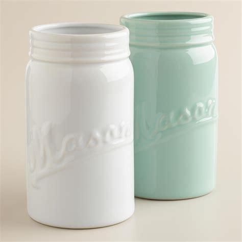 Vase Jar by Large Jar Vases Set Of 2 World Market