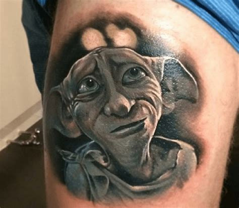 dobby tattoos 34 harry potter tattoos one is shocking