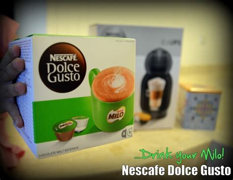 Nescafe Dolce Gusto Make Your Own Italian Style Coffee With Gusto by Get Milo With Your Dolce Gusto Ed Unloaded