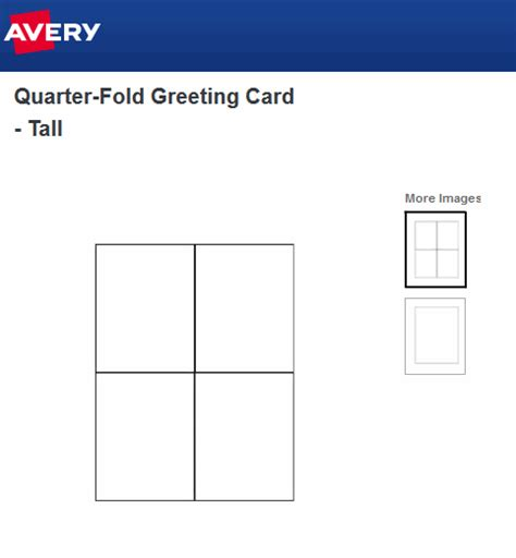 Avery Template Greeting Card 2 On One Page by Greeting Card Template In Avery Ask A Tech