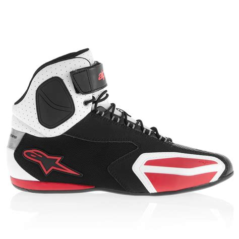 alpinestar shoes alpinestars s faster vented shoes black white