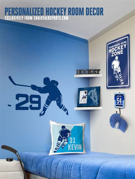 25 best ideas about hockey room decor on