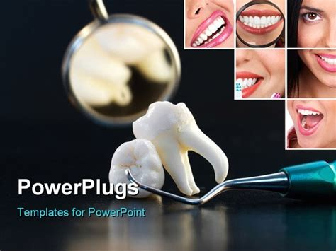 dental powerpoint templates free real human wisdom teeth dental implant and instruments