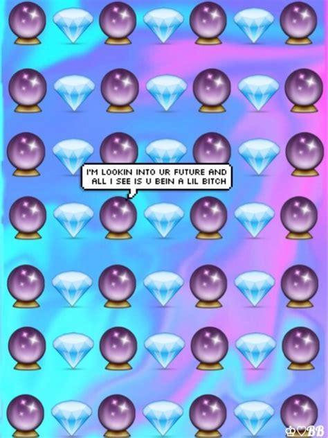 emoji wallpaper tumblr iphone crystal ball emoji tumblr