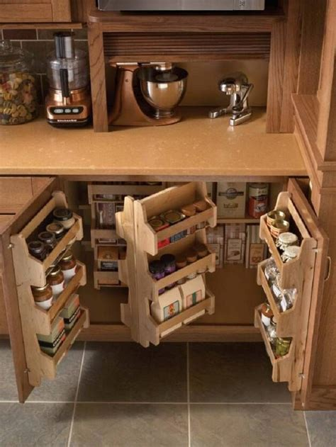 diy kitchen storage 10 attractive and simple diy kitchen organizing and
