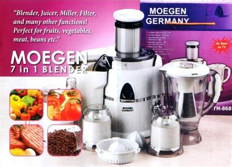 Daftar Juicer Extractor jual mogen juicer 7 in 1 blender germany multifungsi