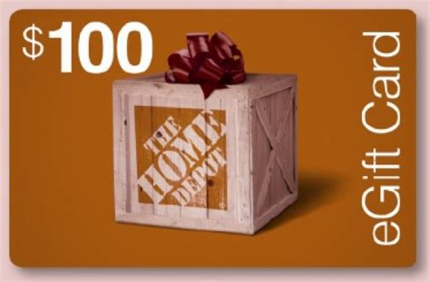 Home Depot Gift Card Free Shipping - the home depot gift card 100 by johnro offeritem item number 97577