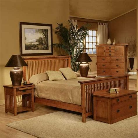 Mission Style Bedroom Set by Mission Style Bedroom Set Fireside Furniture