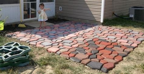 Quikrete Patio Ideas Fan Made This Fan Made A 12 X12 Patio Using The