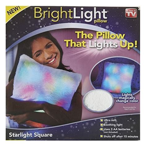 Pillow Buddy As Seen On Tv by Bright Light Pillow As Seen On Tv Starlight Square In