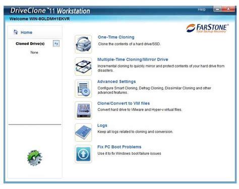 drive clone storagenewsletter 187 farstone updates backup recovery and