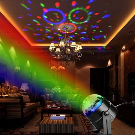 uses for strobe lights for christmas disco dj stage light club effect rgb sound activated led ligh