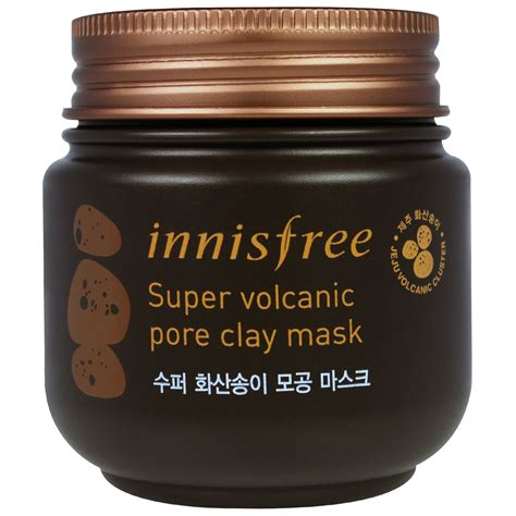 Masker Mud Mask Jafra innisfree volcanic pore clay mask 3 38 oz 100 ml