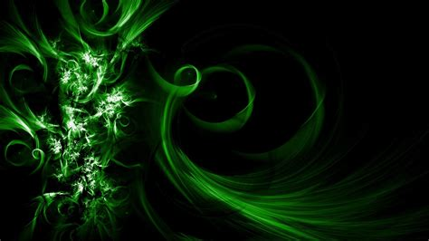 Green Abstrac Black black and green abstract hd backgrounds 1494 hd wallpaper site