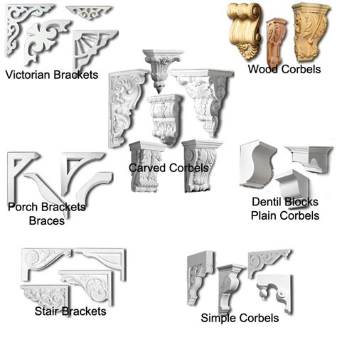 decorative brackets and corbels corbels and brackets