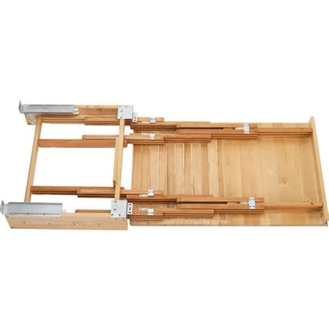 pull out desk shelf rev a shelf wood pull out for kitchen or desk