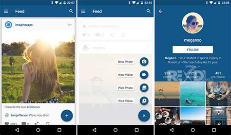 instagram android apk imagine for instagram 4 0 apk for android