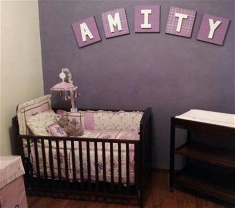 baby room ideas purple amity s purple baby nursery