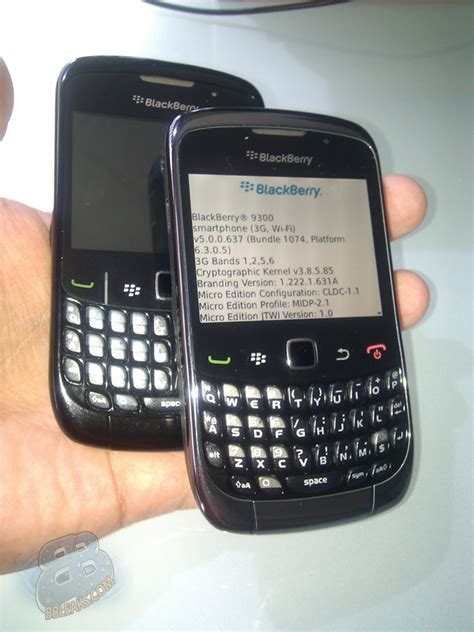 Hp Blackberry Kepler 9300 blackberry curve 9300 quot kepler quot pictured next to 8520