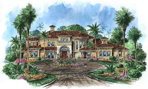 tuscan style home plans spanish hacienda style homes home style tuscan house plans
