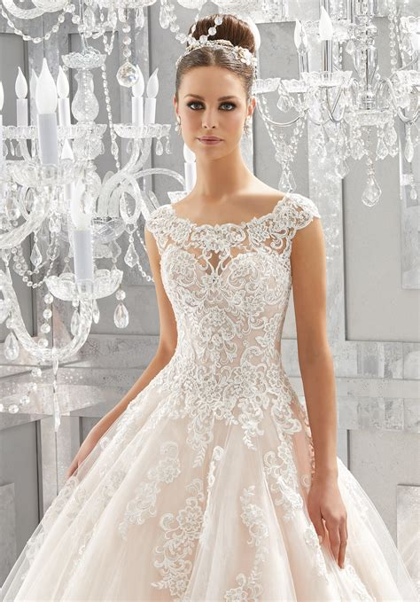 massima wedding dress style 5573 morilee