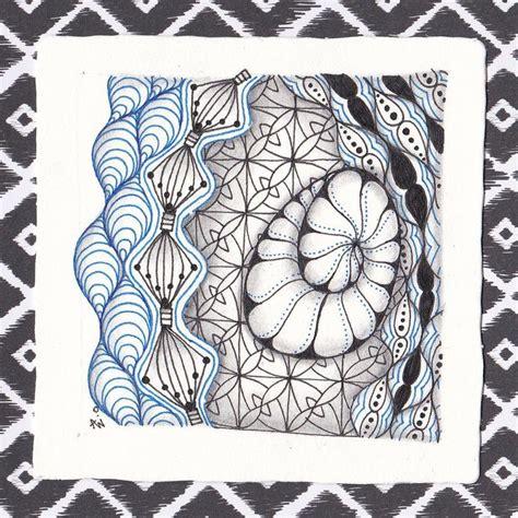 doodle pattern tiles 17 best images about zentangle tiles on pinterest