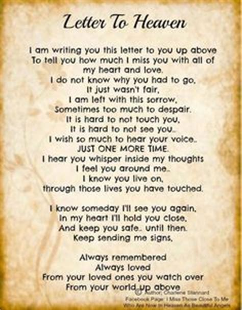 up letter to a loved one 1000 images about loved ones in heaven on