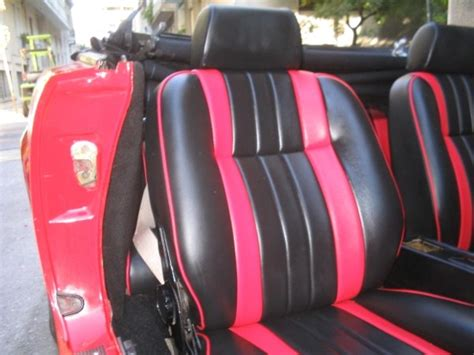 car upholstery ta fiat 124 sport spider