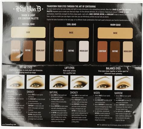 Kvd Shade Light Eye Contour Palette Review Kirei Makeup