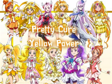 Shop For The Cure Duwop Power 2 by Pretty Cure Yellow Power By Pinkhanamori On Deviantart