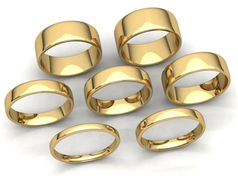 Comfort Fit Euro Dome Wedding Band Ring Mens Womens 2mm