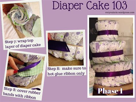 How To Make Paper Diapers For Baby Shower - cake tutorial quot veryvalerie quot