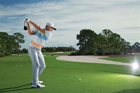 rickie fowler golf swing 3 keys for big tee shots golf digest