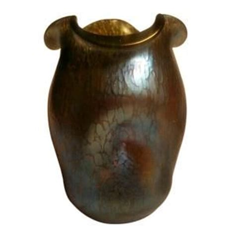 Iridescent Vase Loetz Iridescent Glass Vase Austria Circa 1900 Loetz
